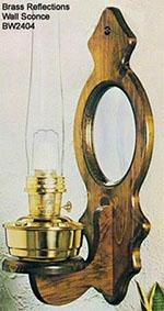 Brass Reflections Wall Sconce